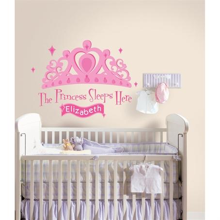 Интерьерная наклейка RMK1787GM Принцесса