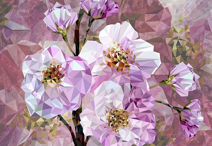Fototapeet XXL4-064 Blooming Gems