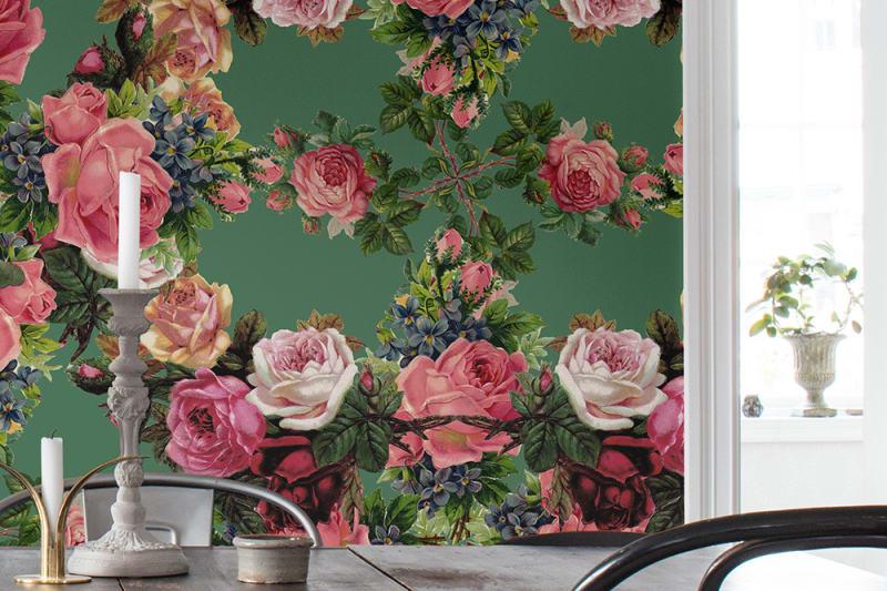 Pilttapeet R15711 Floral Frida