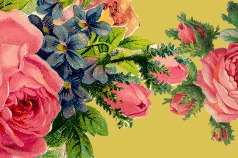 Pilttapeet R15712 Floral Frida