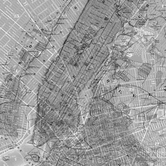 Fototapeet NYC Map P033-VD2