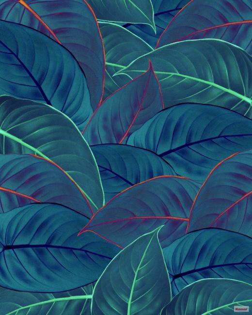 Pilttapeet Foliage P026-VD2 - 200×250 cm