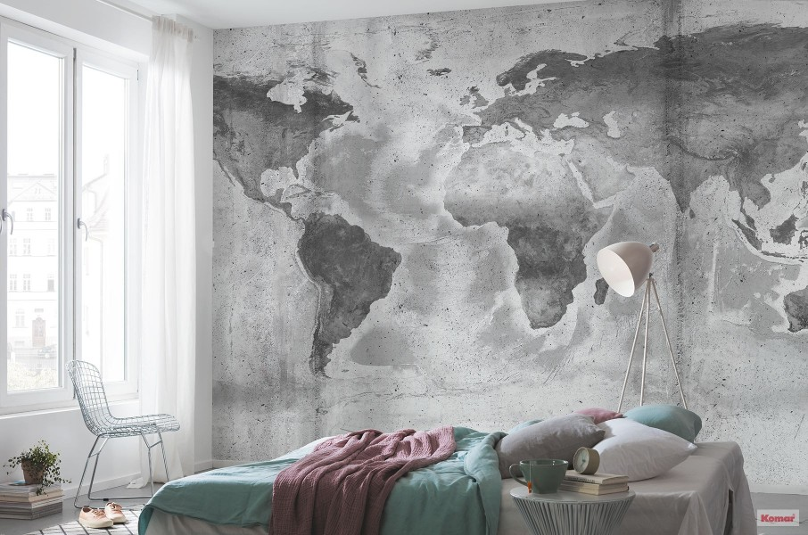 Pilttapeet Concrete World P039-VD5 - 500×250 cm