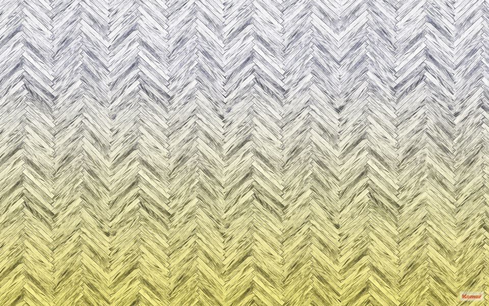 Pilttapeet Herringbone Yellow 6000C-VD4 (400×250 cm)