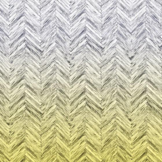 Fototapeet Infinity - Herringbone Yellow 6000C-VD4
