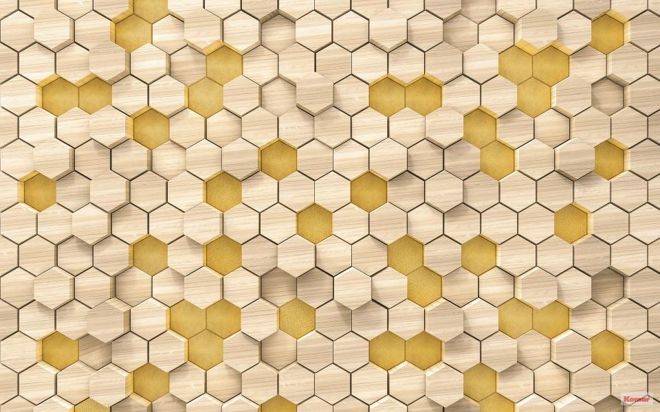 Pilttapeet Woodcomb Birch 6005A-VD4 (400×250 cm)