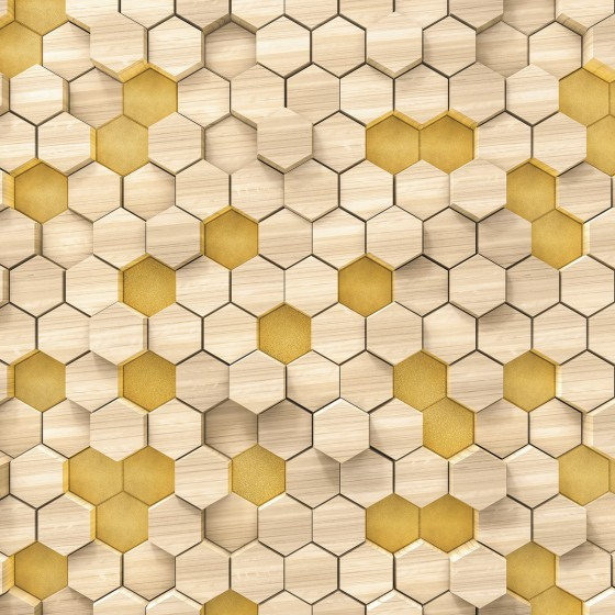 Fototapeet Infinity - Woodcomb Birch 6005A-VD4