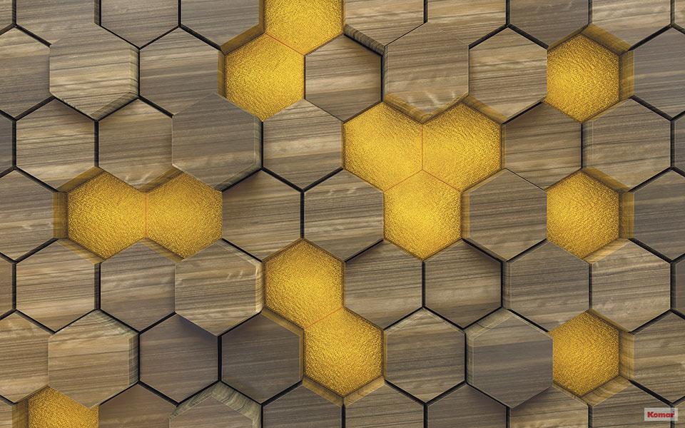 Pilttapeet Woodcomb Olive 6005C-VD4 (400×250 cm)