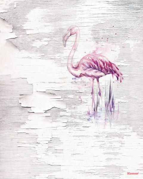 Pilttapeet Pink Flamingo 6007A-VD2 (200×250 cm)