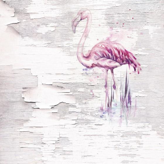 Fototapeet Infinity - Pink Flamingo 6007A-VD2