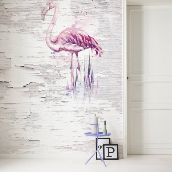 Pilttapeet Infinity Pink Flamingo 6007A-VD2