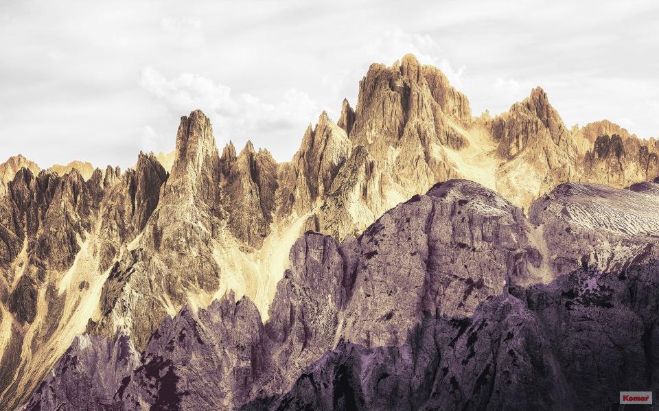 Pilttapeet Peaks Color 6008B-VD4 (400×250 cm)