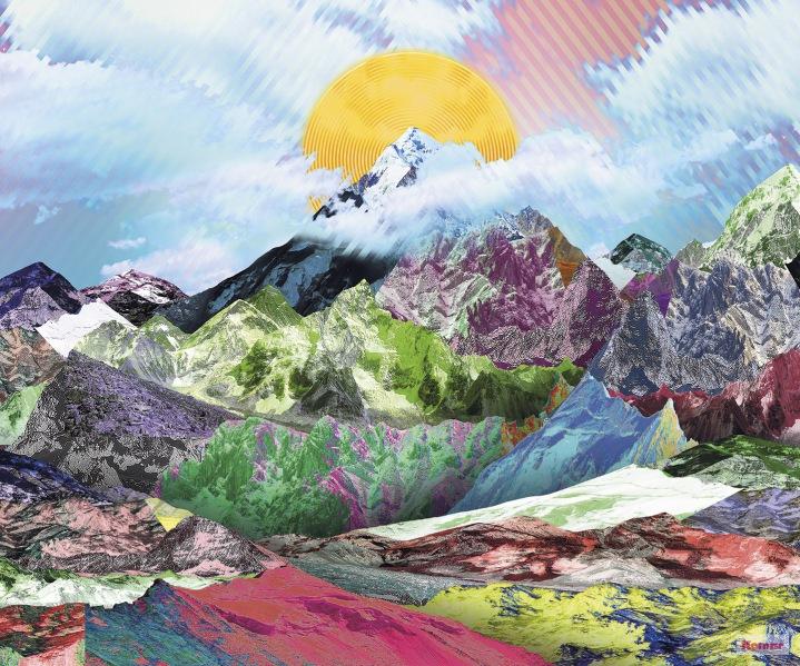 Pilttapeet Mountain Top 6017A-VD3 (300×250 cm)