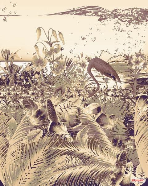 Pilttapeet Fantasia Dark 6031C-VD2 (200×250 cm)