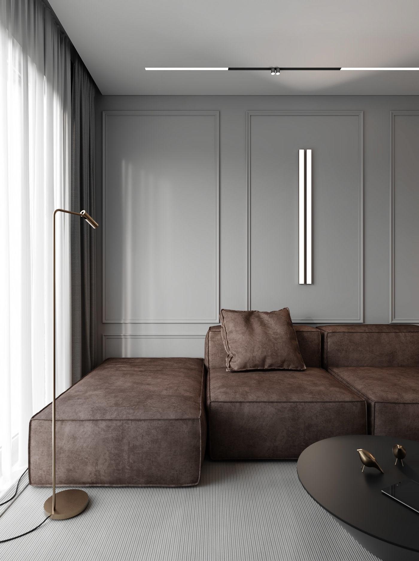Seinaliist modernses interjööris