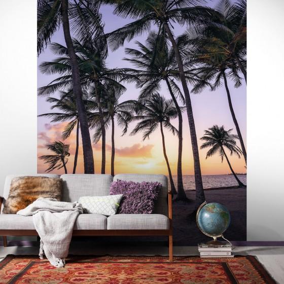 Pilttapeet Stefan Hefele Palmtrees on Beach SH022-VD2