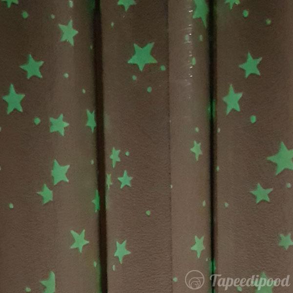 Tapeet 77308 tähtedega (pimedas helendab)