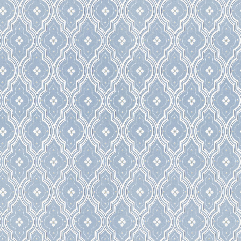 Tapeet Sandberg Villa Dalarö 424-36 Viola Blue