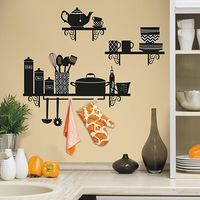 Disainkleebis RMK2757GM Kitchen Shelf