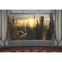 Fototapeet 8-483 Star Wars Coruscant View