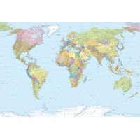 Fototapeet XXL4-038 World Map