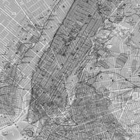 Fototapeet NYC Map P033-VD2
