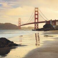 Fototapeet Stefan Hefele - Golden Gate SH048-VD4