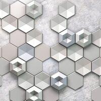 Fototapeet Infinity - Hexagon Concrete 6004A-VD4