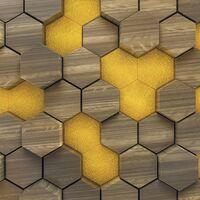Fototapeet Infinity - Woodcomb Olive 6005C-VD4