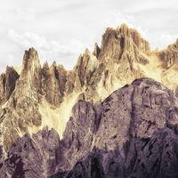 Fototapeet Infinity - Peaks Color 6008B-VD4