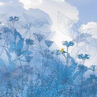Fototapeet Infinity - Blue Sky 6041A-VD2