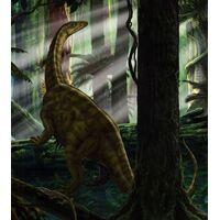 Fototapeet Riojasaurus Forest IANGX5-012